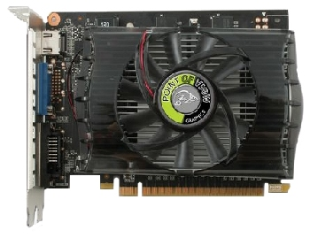 Видеокарта Point of View GeForce GTX 650 2GB