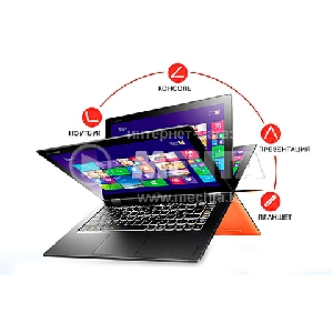 Ультрабук Lenovo Yoga 13.3 HD multi-touch/Intel i3-3227UM/4Gb/128 SSD/ Win8