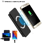 Wireless Charger Power Bank Samsung W3 9000 mAh