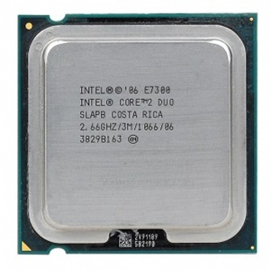Intel Core 2 Duo E7300 2660MHz