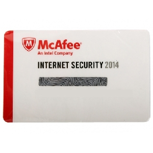 McAfee Internet Security 2014 (на 1 пк, 1 год)