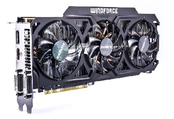 Видеокарта GIGABYTE Geforce GTX 770 WindForce 3GB