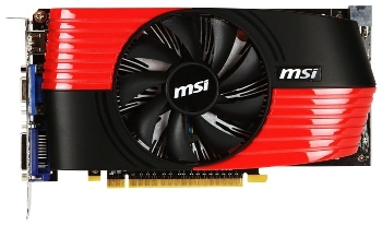 Видеокарта MSI GeForce GTS 450
