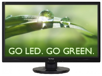 Монитор 23.6'' ViewSonic VA2445-LED Black