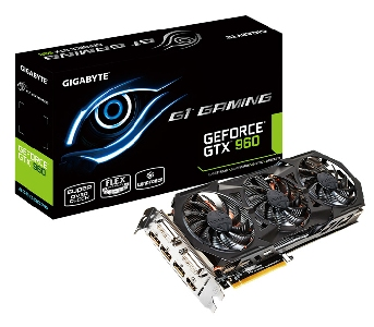 Видеокарта GIGABYTE GeForce GTX 960 2048Mb