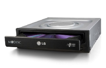 Привод LG DVD Super Multi SATA GH24NSD1 Bulk Black ( только читает)