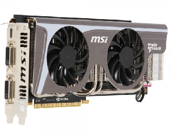 Видеокарта MSI N580GTX TWIN FROZR II/OC